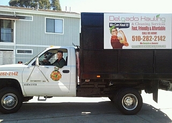 Oakland junk removal Delgado Hauling and Cleaning Services