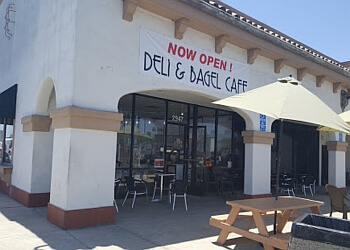 Costa Mesa bagel shop Deli & Bagel Cafe