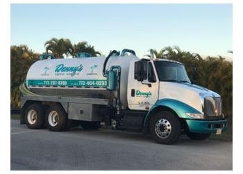 Port St Lucie septic tank service Denny's Septic Service
