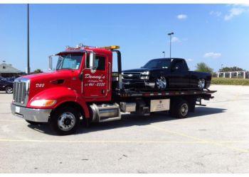 Arlington towing company Denny's Towing
