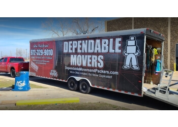 Mesquite moving company Dependable Movers & Packers