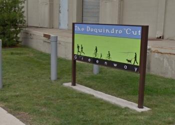 Detroit hiking trail Dequindre Cut