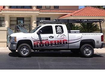 Las Vegas roofing contractor DESERT VALLEY ROOFING LLC