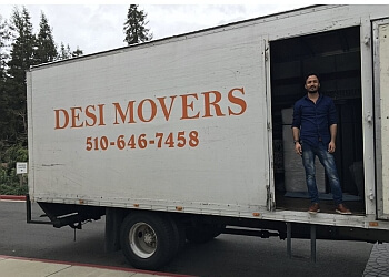 Fremont moving company Desi Movers
