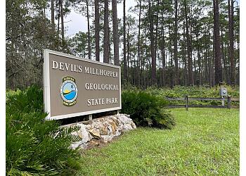 Gainesville public park Devil's Millhopper Geological State Park