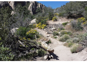 Palmdale hiking trail Devil's Punchbowl Natural Area