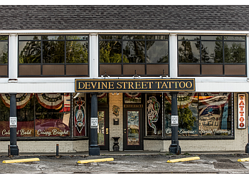 Columbia tattoo shop Devine Street Tattoo
