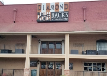 Waco steak house DiamondBack's