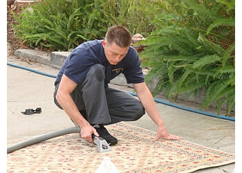 Orange carpet cleaner Diamond Carpet Care