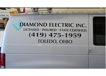 Toledo electrician Diamond Electric, Inc.