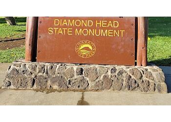 Honolulu hiking trail Diamond Head State Monument
