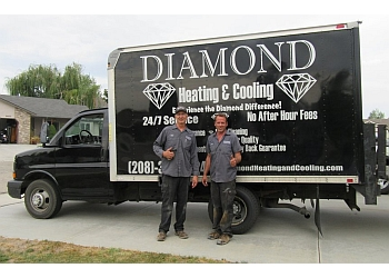 Boise City hvac service  Diamond Heating and Cooling
