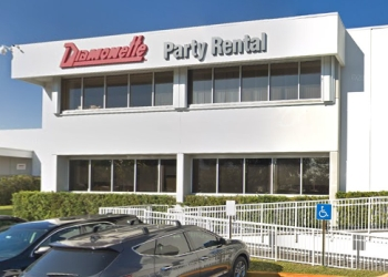 Miami event rental company Diamonette Party Rental