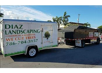 Hialeah lawn care service Diaz Landscaping