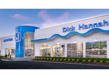Vancouver car dealership Dick Hannah Honda