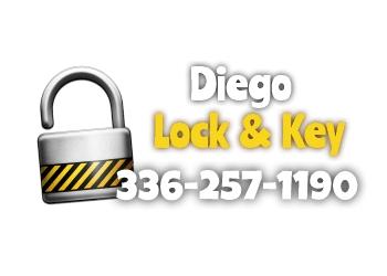 Winston Salem 24 hour locksmith Diego Lock and Key