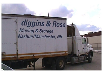 Manchester moving company Diggins & Rose Inc.