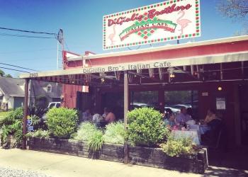 Baton Rouge italian restaurant Digiulio Brothers Italian Cafe