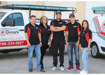 Miami garage door repair Dimark Garage Doors