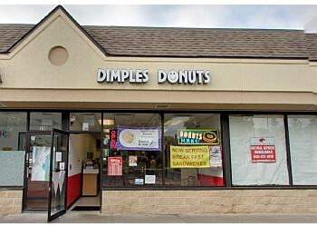 Aurora donut shop Dimples Donuts