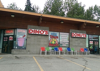 Anchorage donut shop Dino's Donuts