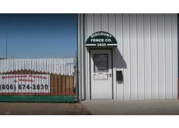 Amarillo fencing contractor Discount Fence Company, Inc.