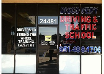 Moreno Valley driving school Discovery Driving School