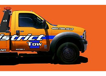 Tempe towing company District Tow