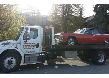 Spokane towing company Divine's Towing and Hauling
