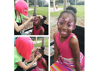 Hollywood face painting Dizzy Doodle Face Painting, LLC