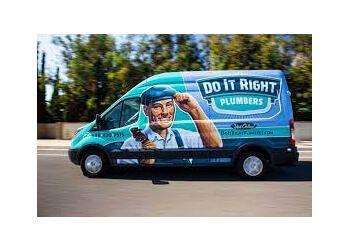 Orange plumber Do It Right Plumbers Inc.