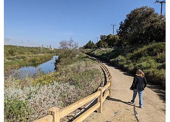 Long Beach hiking trail Dominguez Gap Wetlands