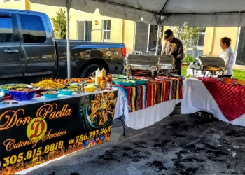 Miami caterer Don Paella Catering