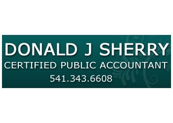 Eugene accounting firm Donald J Sherry CPA