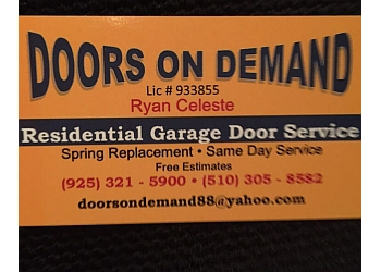 Fremont garage door repair Doors On Demand
