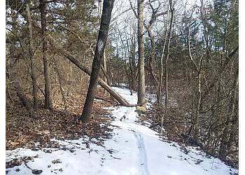 Topeka hiking trail Dornwood Park Trail
