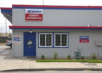 Fremont car repair shop DORSO'S AUTOMOTIVE REPAIR INC.