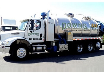 Akron septic tank service Downs Drain & Septic Service