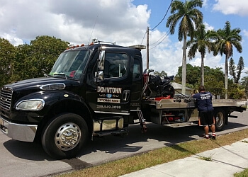 Cape Coral towing company Downtown Enterprises, Inc.