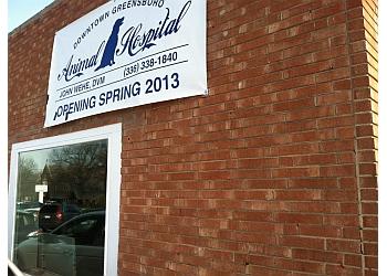 Greensboro veterinary clinic Downtown Greensboro Animal Hospital