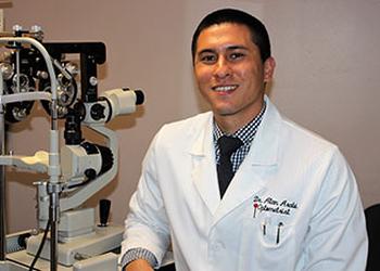 Corona pediatric optometrist Dr. ALAN ARABI, OD