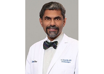 Mesquite dermatologist Dr. Abraham Kuruvilla, MD, PhD