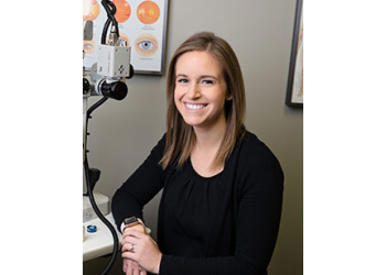 Evansville pediatric optometrist Dr. Brittney McWilliams, OD