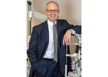 Boise City pediatric optometrist Dr. Chad Cleverly, OD