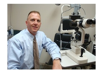Lincoln pediatric optometrist Dr. Douglas C. Rienks, OD