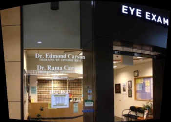 Abilene pediatric optometrist Dr. Edmond J. Carson, OD