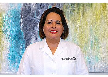 Pasadena podiatrist Dr. Edna Reyes-Guerrero, DPM, FACFAS - MCKINNEY PODIATRIC ASSOCIATES, PA