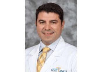 Miami podiatrist Dr. Edward Bustamante, DPM, FACFAS