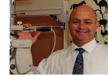 San Diego pediatric optometrist Dr. Eli Ben-Moshe, OD