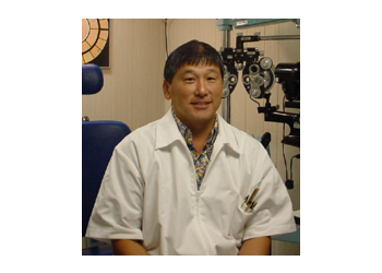 Honolulu pediatric optometrist Dr. Eugene Young, OD